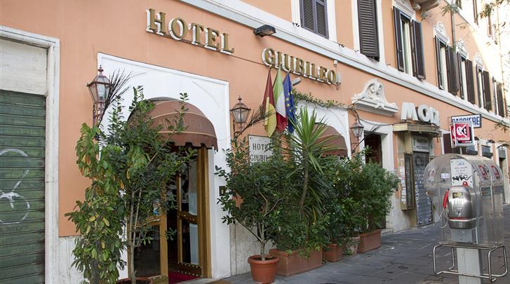 Rome, Hotel Giubileo, Façade hotel