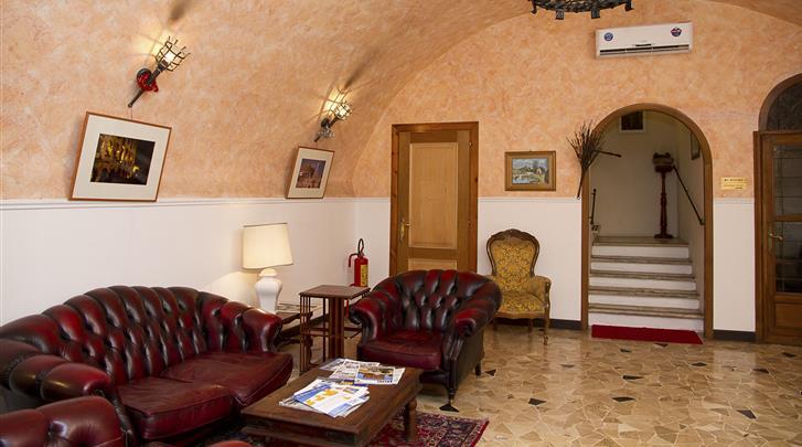 Rome, Hotel Giubileo, Lobby