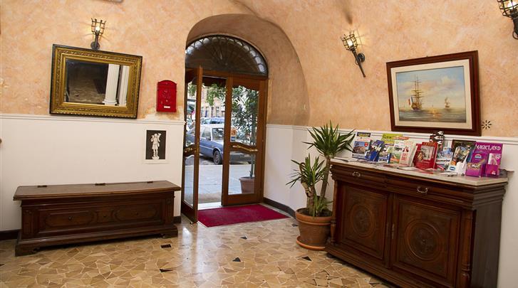 Rome, Hotel Giubileo, Receptie