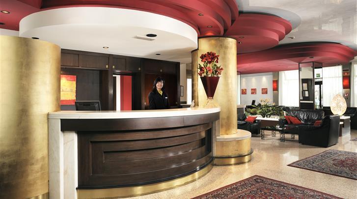 Venetië, Mestre - Hotel Antony, Receptie