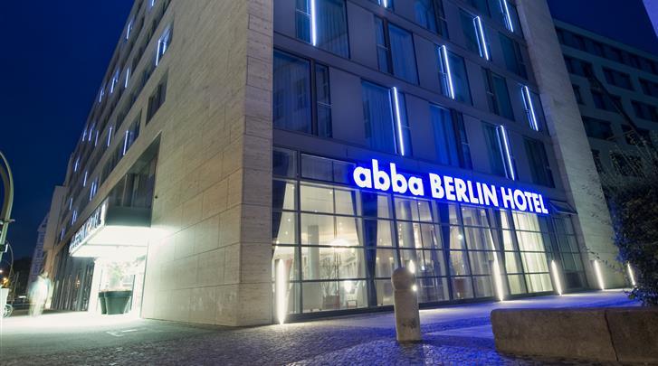 Berlijn, Hotel Abba Berlin, Façade hotel