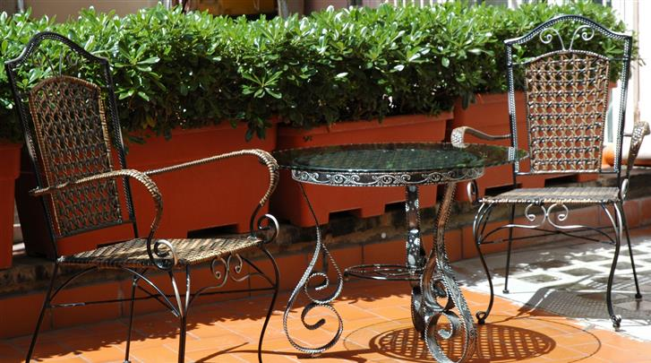 Rome, B&B Portafortuna, Terras