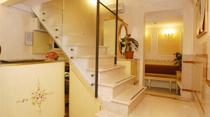 Venetië, Hotel Orion, Receptie
