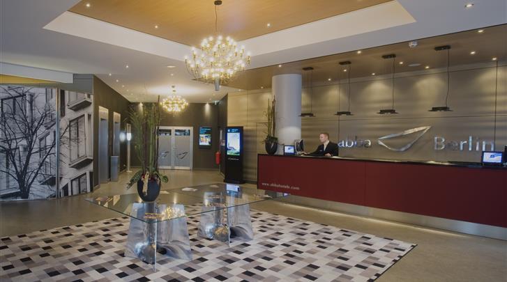 Berlijn, Hotel Abba Berlin, Receptie