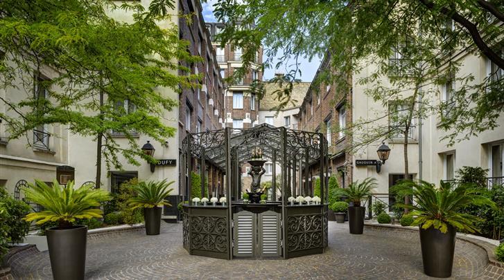 Hotel les jardins du marais in parijs - Jardins du marais restaurant ...