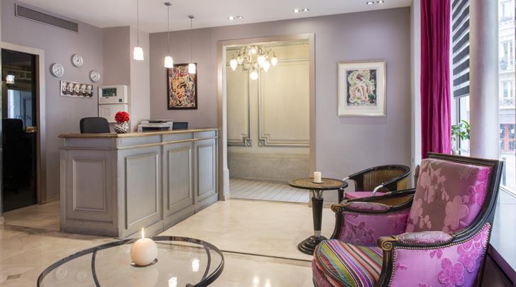 Parijs, Hotel Corona Rodier, Receptie