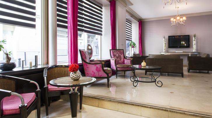 Parijs, Hotel Corona Rodier, Lobby