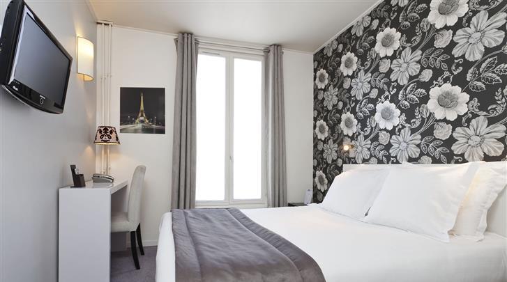 Parijs, Hotel Soft, Standaard kamer