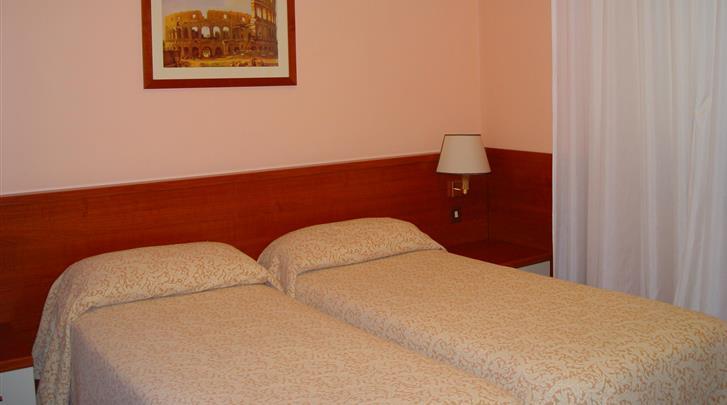Rome, Hotel Portamaggiore, Standaard kamer