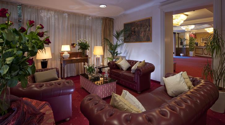 Rome, Hotel Club House Roma, Lobby