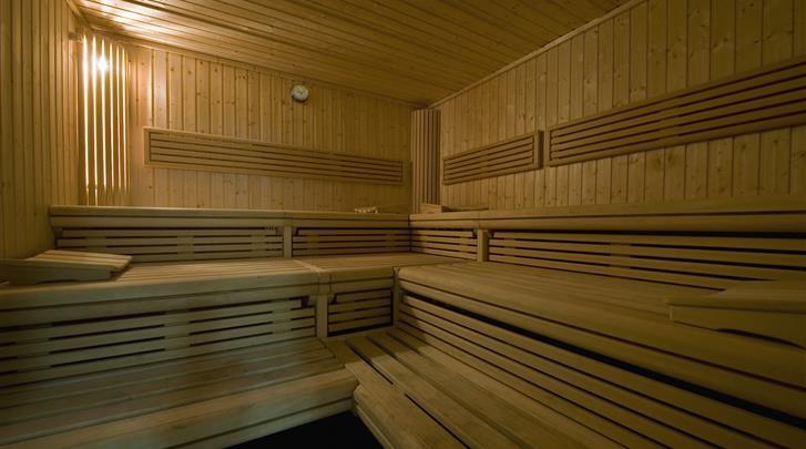 Berlijn, Hotel Abba Berlin, Sauna