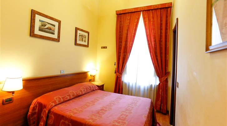 Rome, Hotel Tempio di Pallade, Standaard kamer