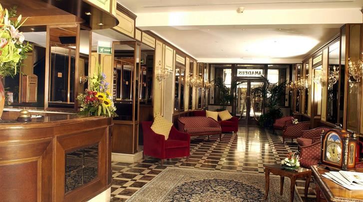 Venetië, Hotel Amadeus, Receptie