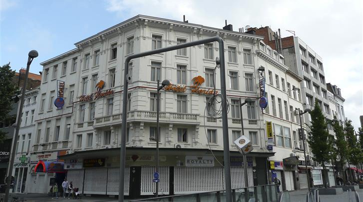 Antwerpen, Hotel Leonardo Antwerpen, Façade hotel