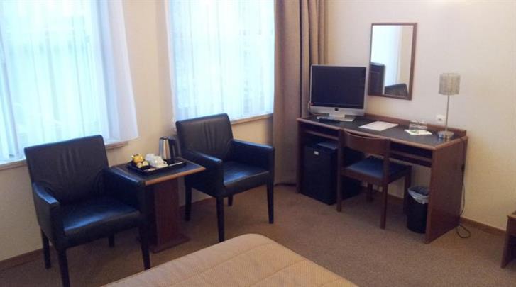 Antwerpen, Hotel Prinse, Standaard kamer