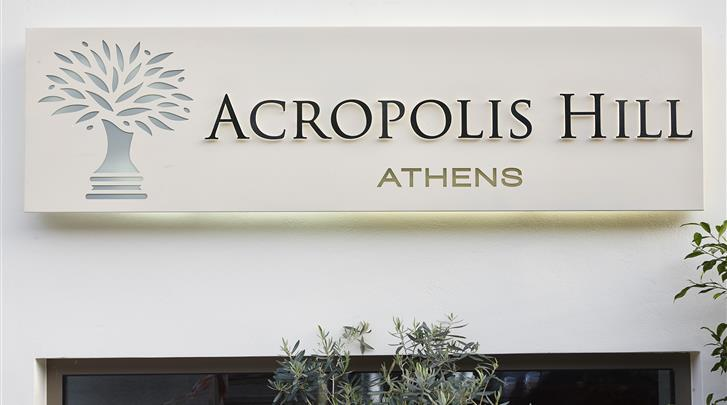 Athene, Hotel Acropolis Hill, Façade hotel