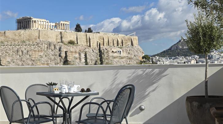 Athene, Hotel Acropolis Hill, Uitzicht