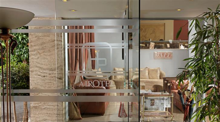 Athene, Hotel Airotel Parthenon, Façade hotel