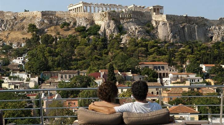 Athene, Hotel Plaka, Dakterras
