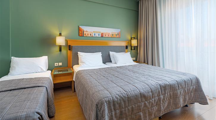 Athene, Hotel Plaka, Driepersoonskamer