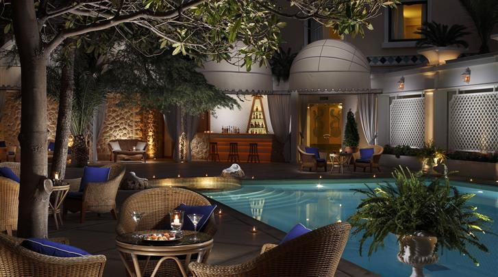 Athene, Hotel Royal Olympic, Poolbar