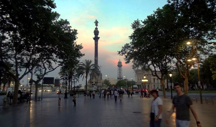 Barcelona De Ramblas