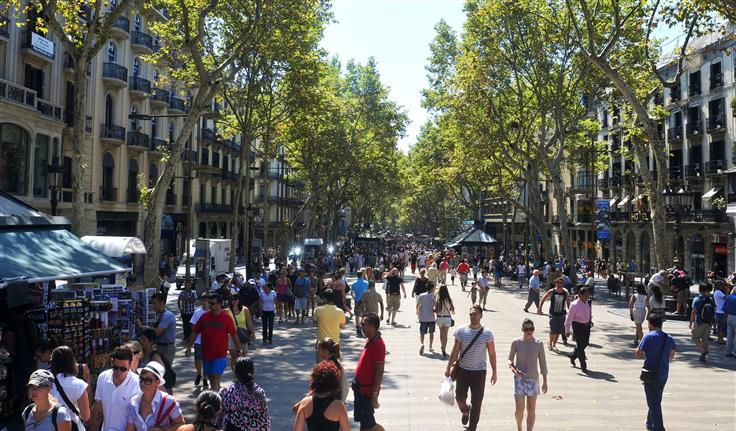 Barcelona, De Ramblas