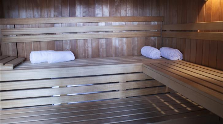 Barcelona, Hotel Balmoral, Sauna