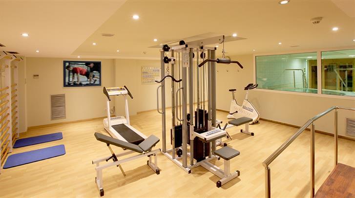 Barcelona, Hotel Abba Garden, Fitnessruimte