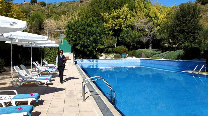 Barcelona, Hotel Abba Garden, Zwembad