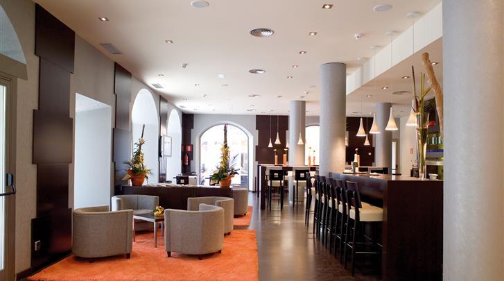 Barcelona, Hotel Abba Rambla, Hotel bar