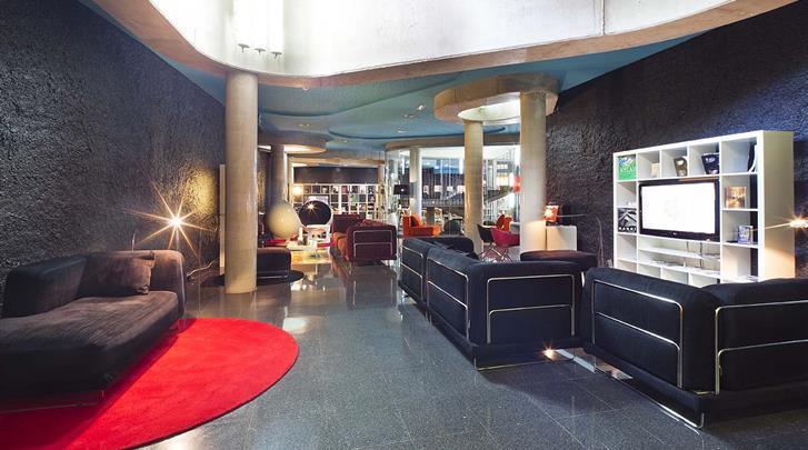 Barcelona, Hotel Acta Mimic, Lounge