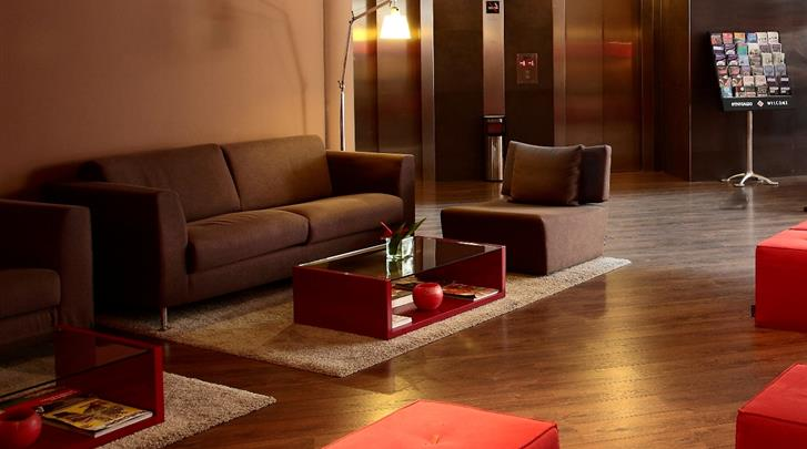 Barcelona, Hotel America, Lobby