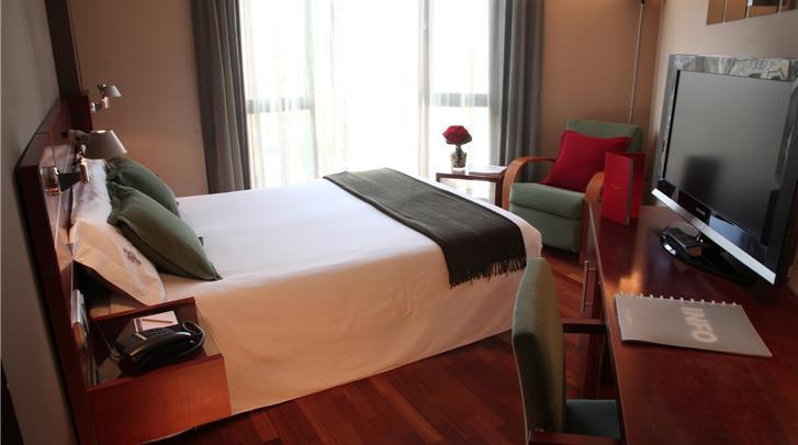 Barcelona, Hotel America, Standaard kamer