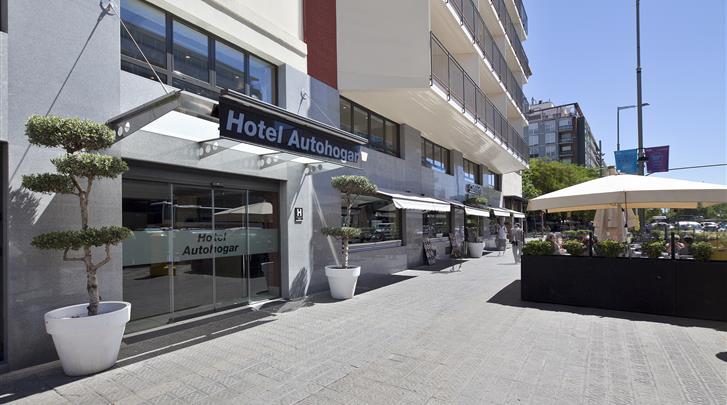 Barcelona, Hotel Auto Hogar, Terras