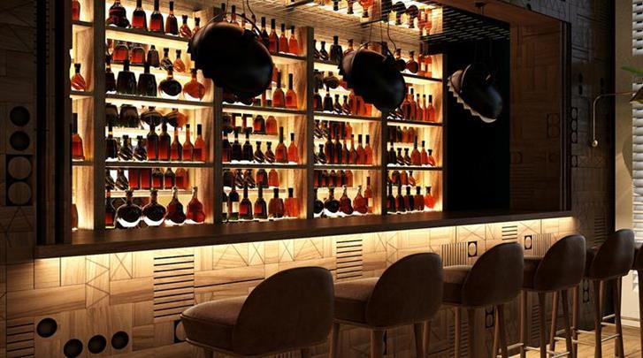 Barcelona, Hotel Barcelona 1882, Hotel bar