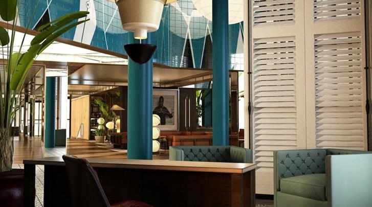 Barcelona, Hotel Barcelona 1882, Lobby