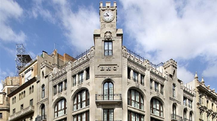 Barcelona, Hotel Barcelona Colonial, Façade hotel