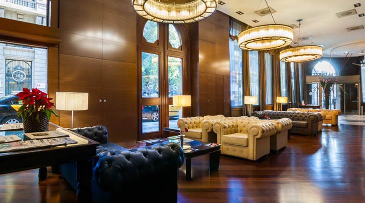 Barcelona, Hotel Barcelona Colonial, Lobby