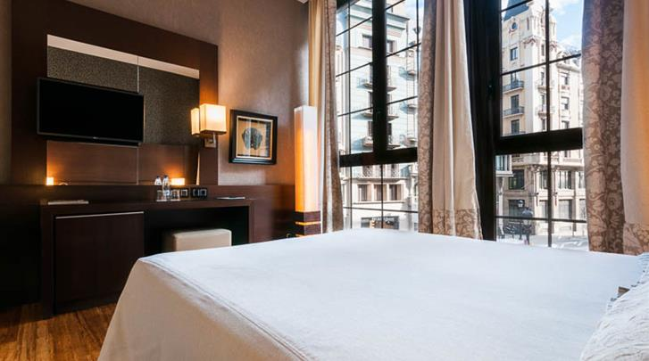 Barcelona, Hotel Barcelona Colonial, Standaard kamer