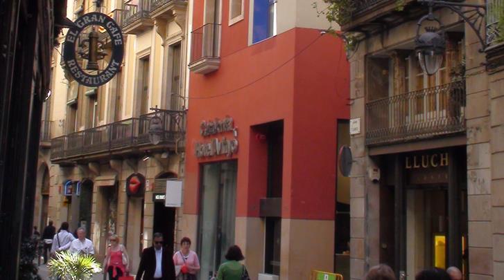 Barcelona, Hotel Catalonia Avinyo, Façade hotel