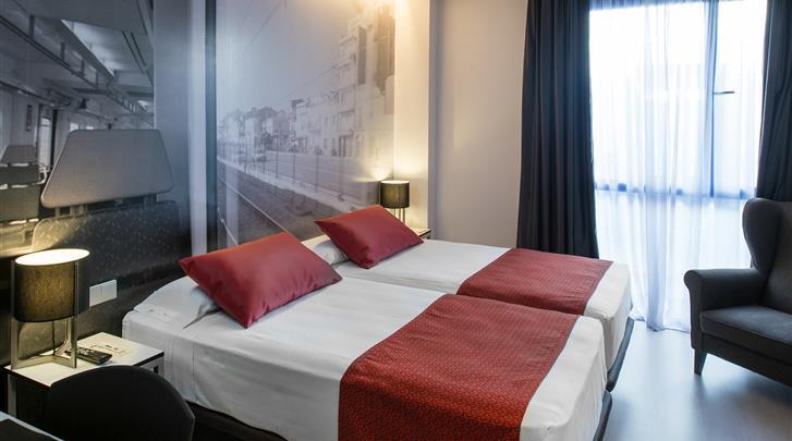 Barcelona, Hotel Catalonia Avinyo, Standaard kamer
