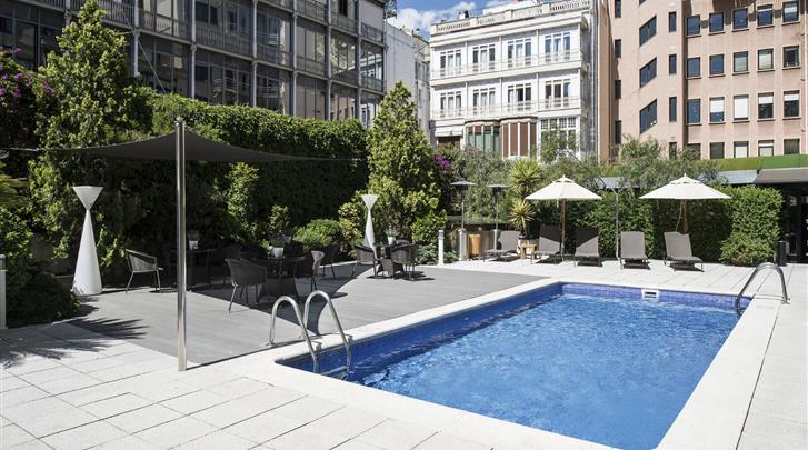 Barcelona, Hotel Catalonia Plaza Catalunya