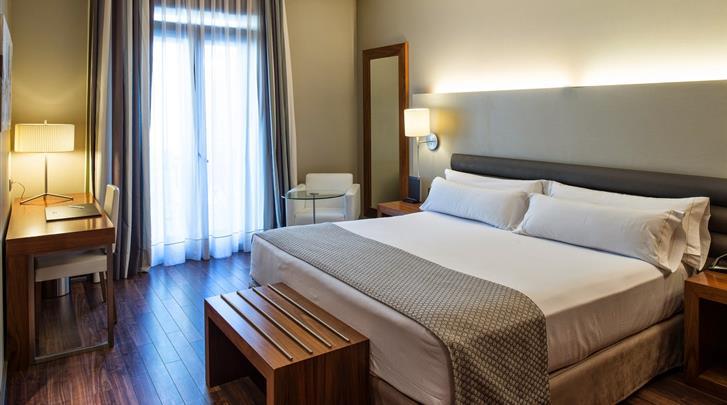 Barcelona, Hotel Catalonia Ramblas, Standaard kamer
