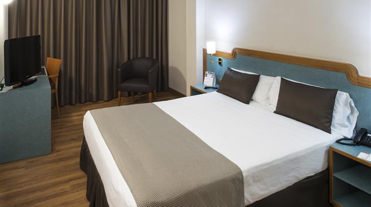 Barcelona, Hotel Catalonia Sagrada Familia, Standaard kamer