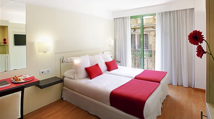 Barcelona, Hotel Grupotel Gravina, Standaard kamer