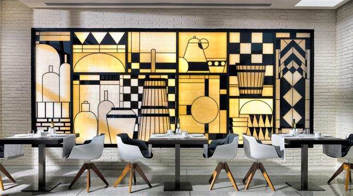 Barcelona, Hotel H10 Art Gallery, Restaurant