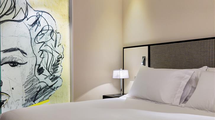 Barcelona, Hotel H10 Art Gallery, Standaard kamer