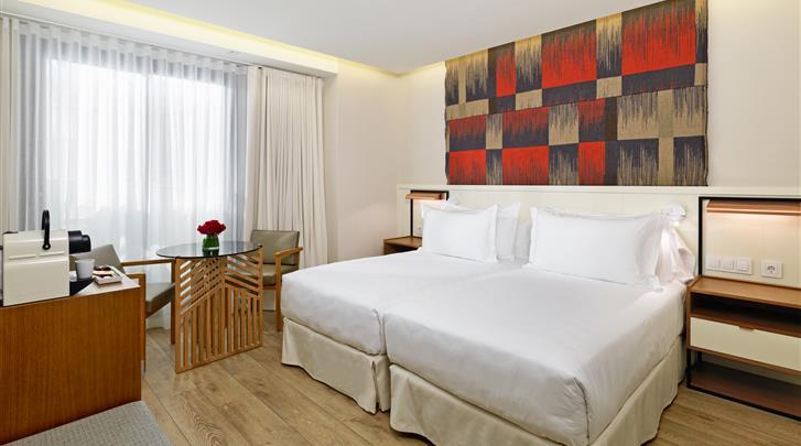 Barcelona, Hotel H10 Cubik, Standaard kamer