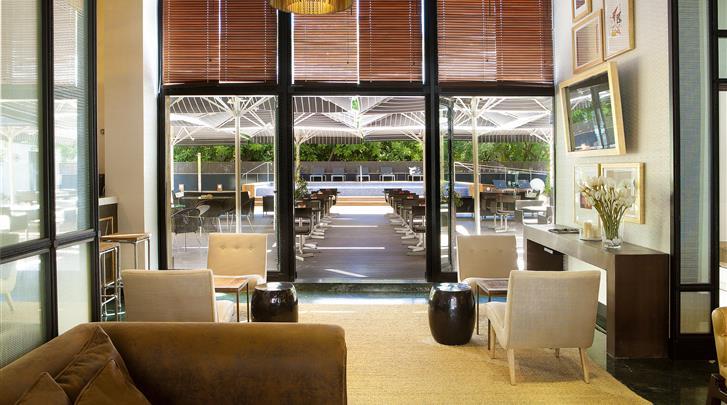 Barcelona, Hotel H10 Itaca, Lobby